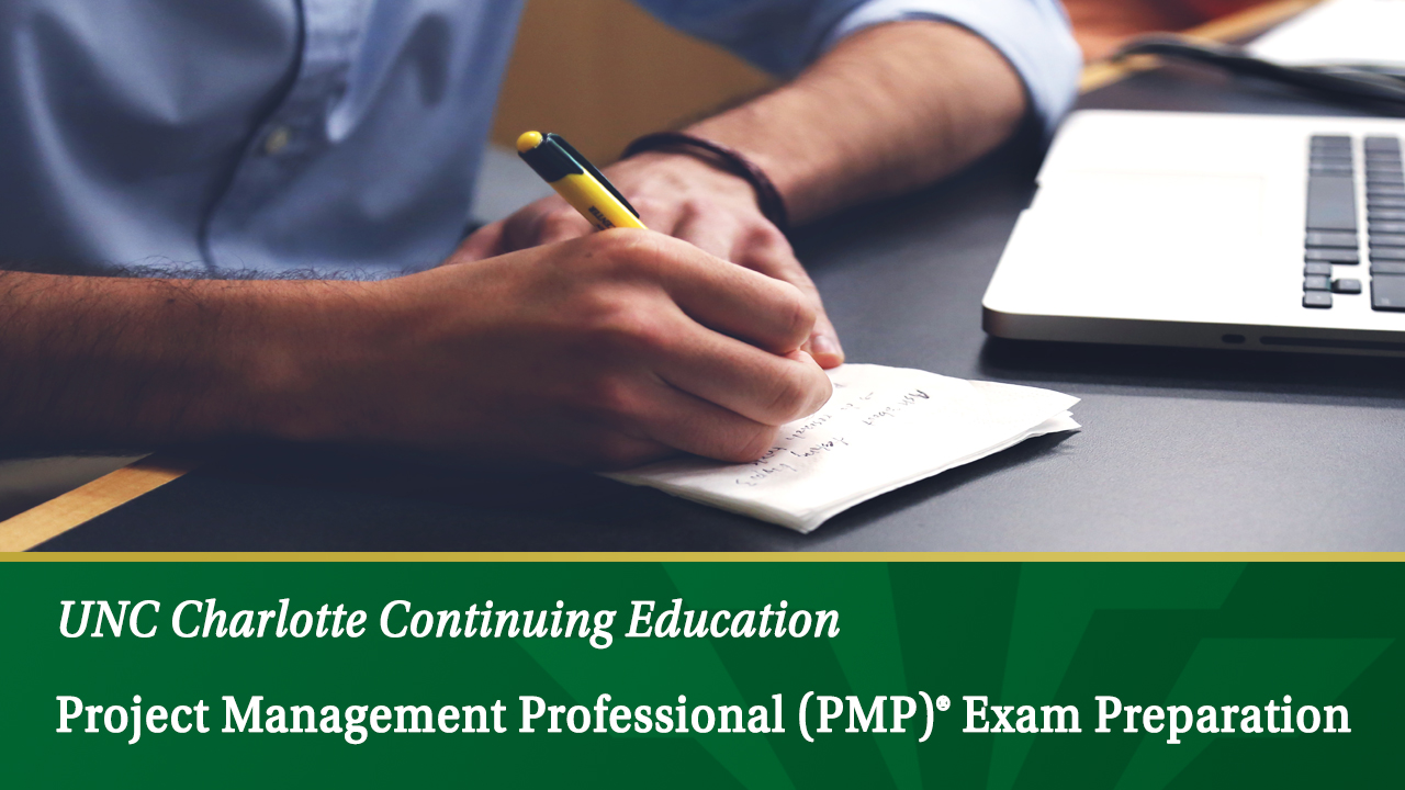 Pjm104 Project Management Professional Pmp Exam Preparation Unc