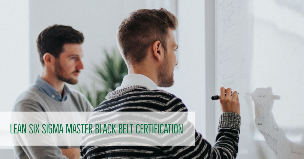 Lean Six Sigma Master Black Belt Certification Unc Charlotte