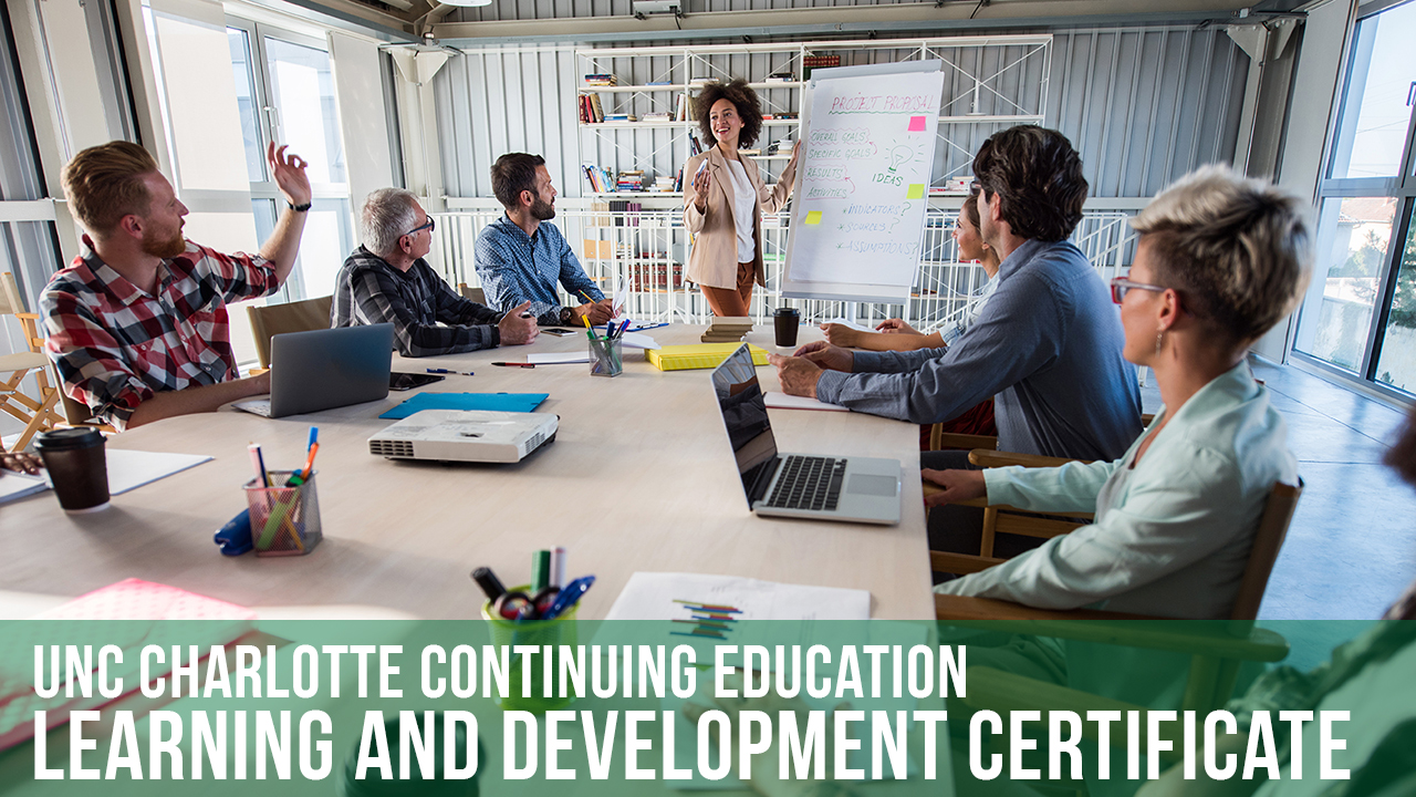 Learning And Development Certificate Unc Charlotte Continuing Education